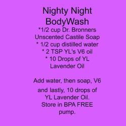 Nighty Night Body Wash